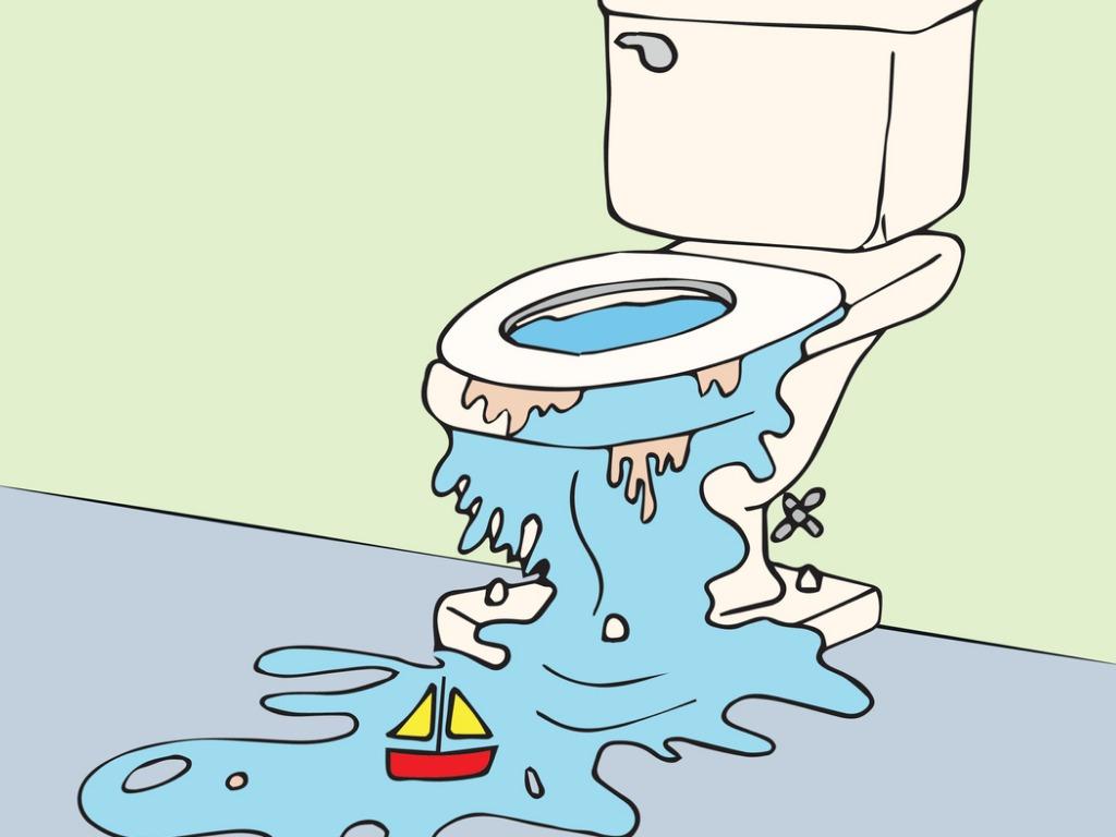 Stoppa inte detta i toaletten