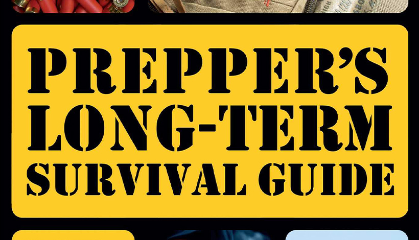 Bok: Prepper's long term survival guide