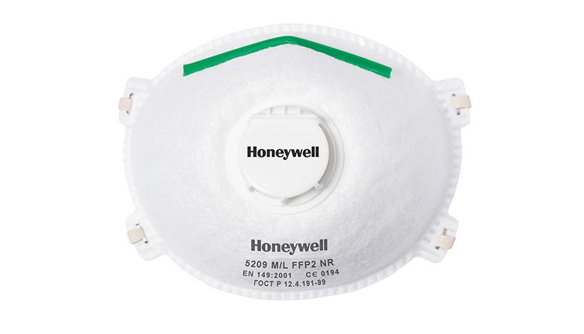 Test: Honeywell FFP2D 5210
