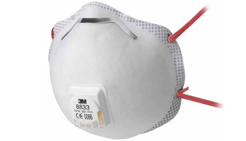 Test: 3M Filtrerande halvmask FFP3